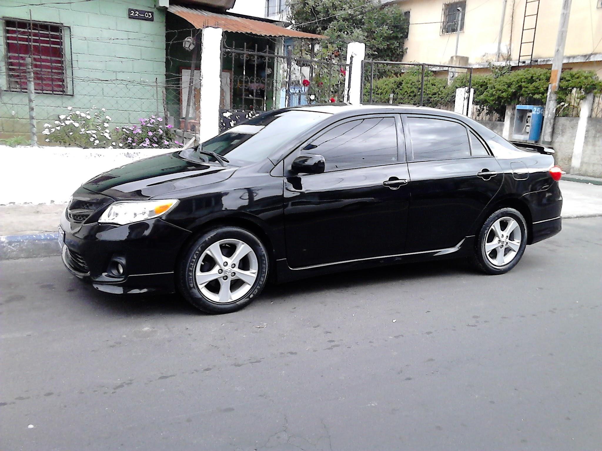 Usados: Toyota Corolla S 2011 automático color negro