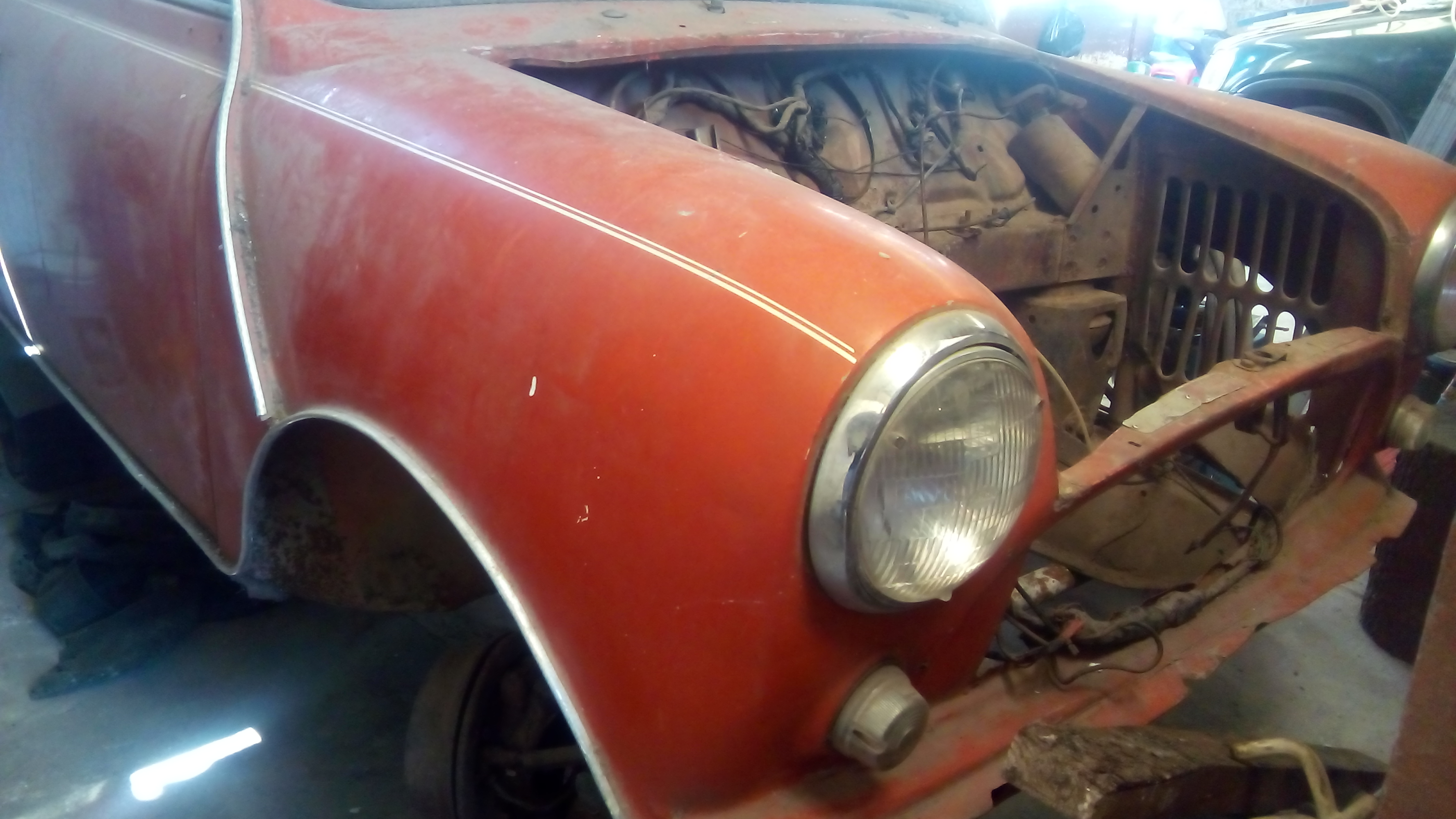 Usados mini cooper 850 1974 cl sico para restauraci n - Mini clasico para restaurar ...