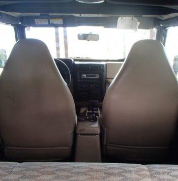 Jeep Wrangler 2000 usado ubicado en Ocotepeque, Honduras Buen estado con A/C Documentos en regla